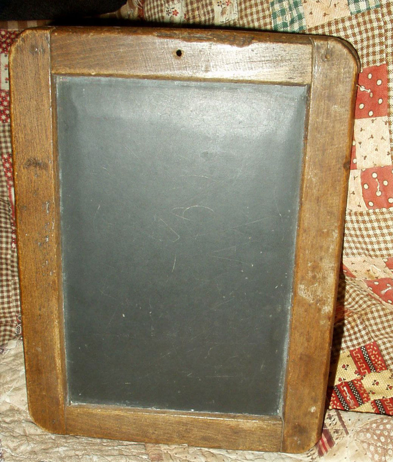 This is what a slate board may have looked like that was used by Finn and his classmates.