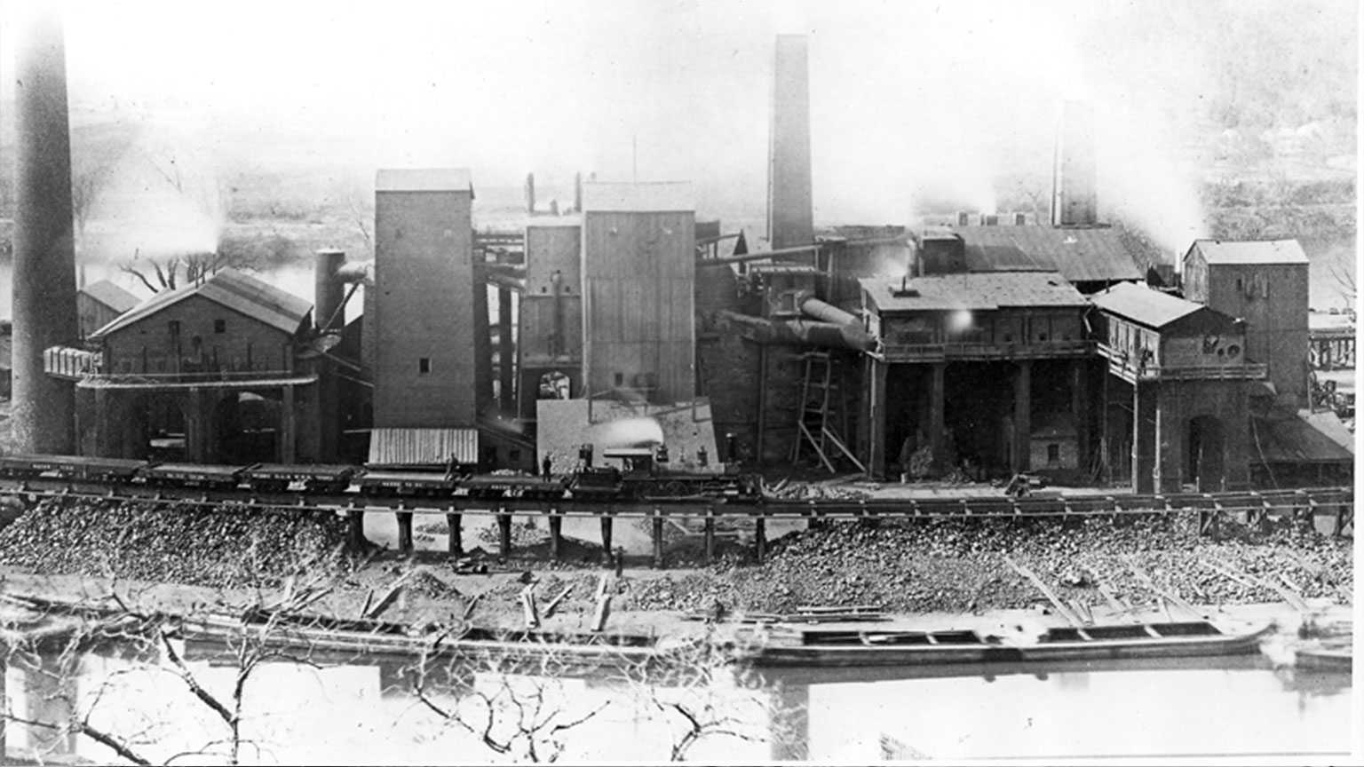 Glendon was a very industrial area when the canal was operating.