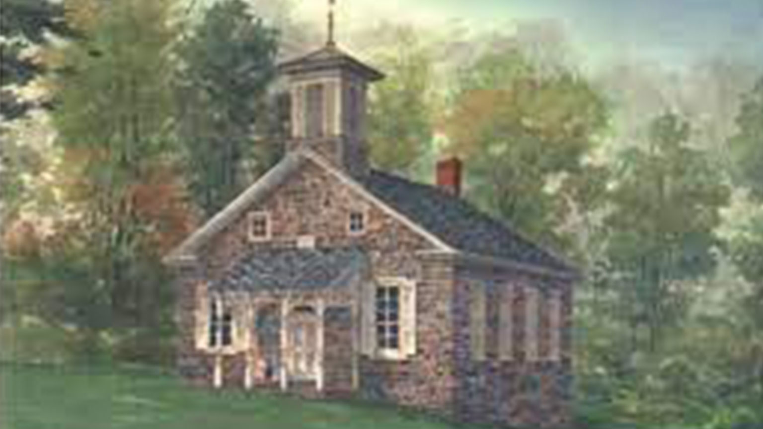 Painting of the Lutz Franklin School
