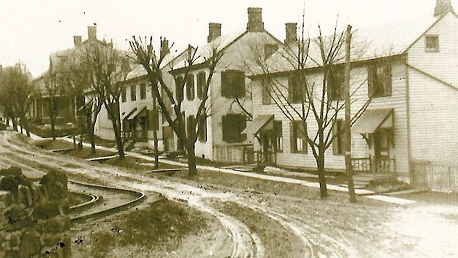 Shimersville was tiny and did not have that many homes.