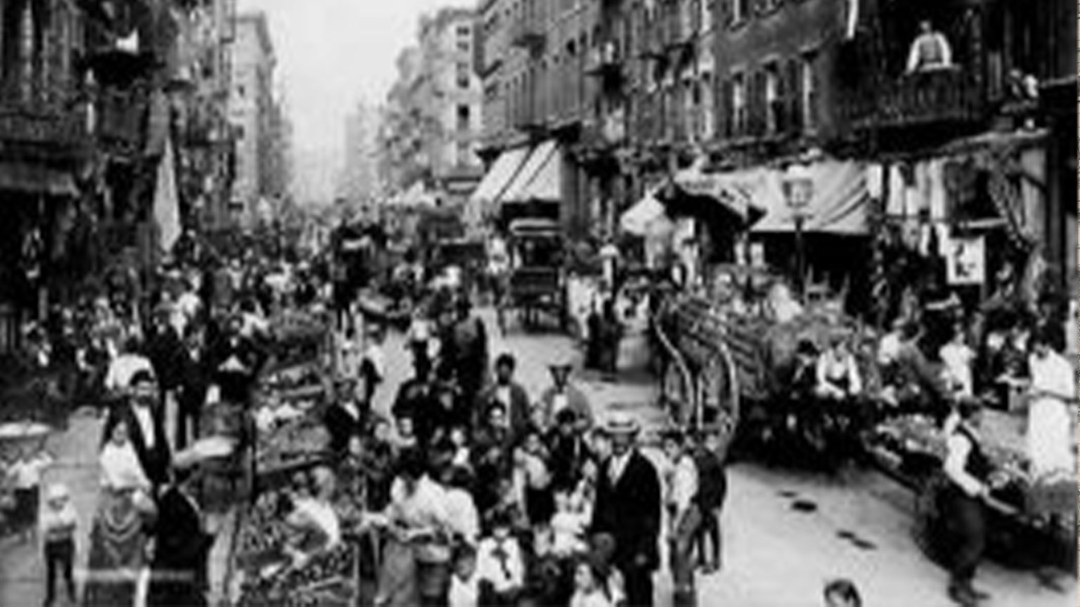 These busy streets are what the Gormans would have experienced every day while they lived in New York City.