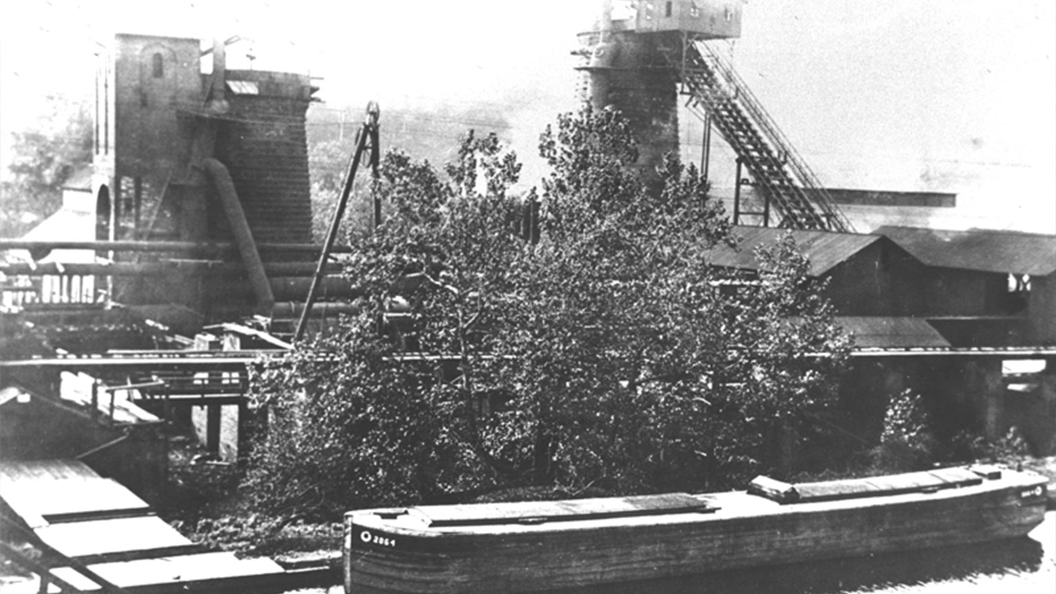 The iron company relied on the canal boats to bring raw materials that it needed and to deliver their pig iron to other locations.