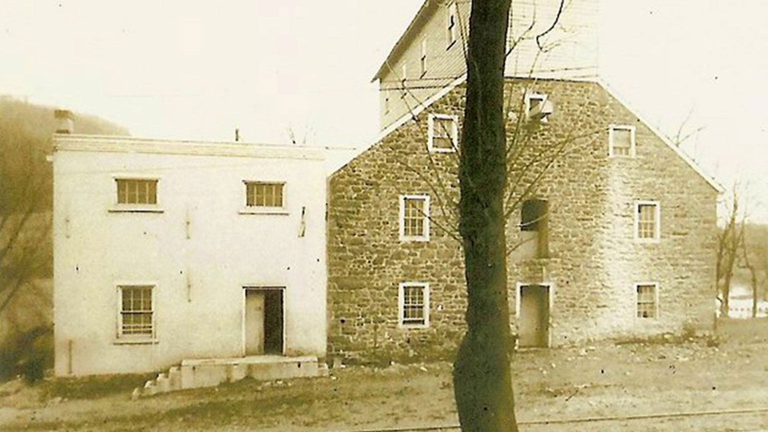 Gristmills were busy places in the mid 1800s and would have used the canal a lot to move its goods.