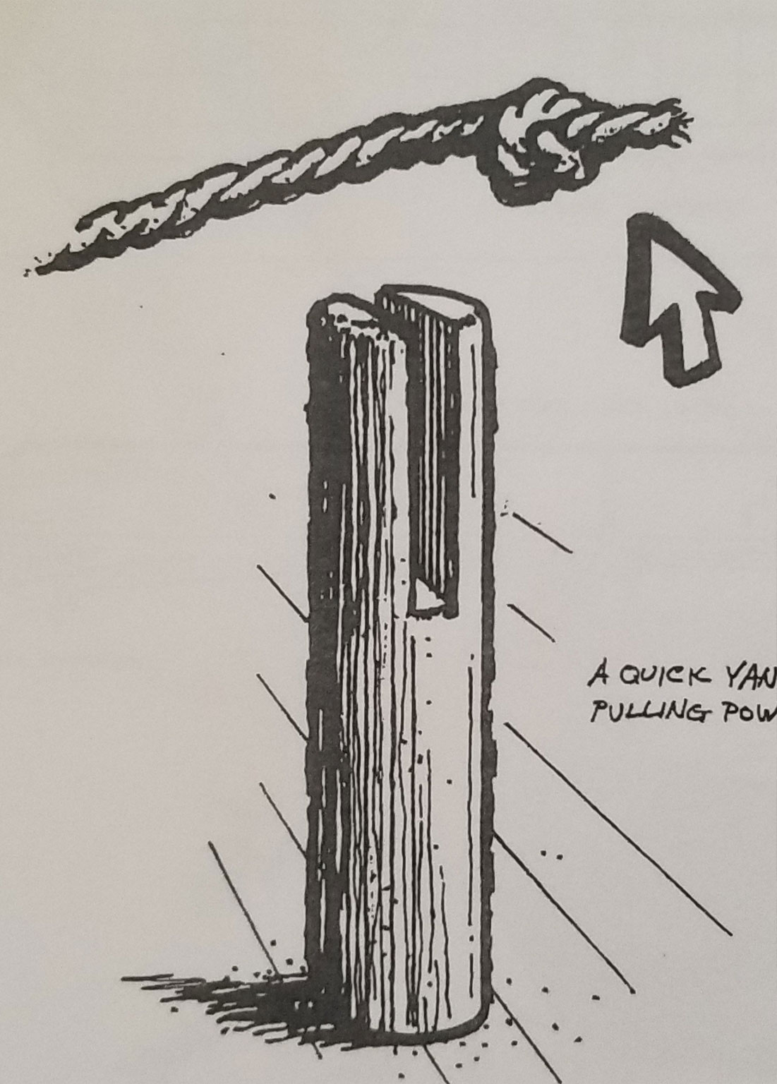 The towpost was half way down the boat deck and was used for the tow rope to slide in and out of the post for easy removal when they needed to lock in and out of the locks.