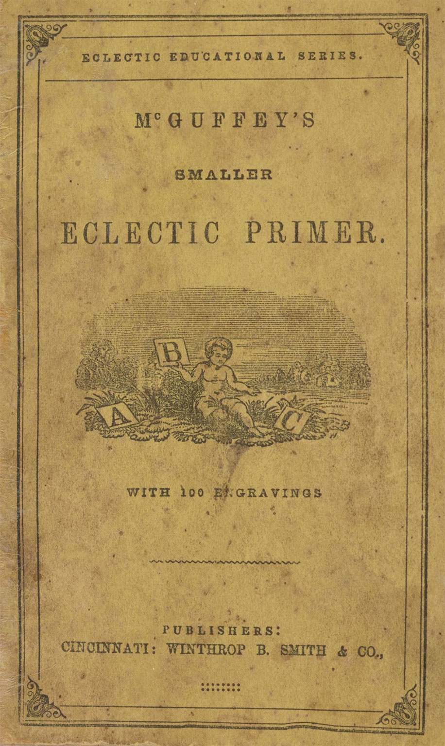This is what the McGuffey's Primer looked like when Finn went to school.