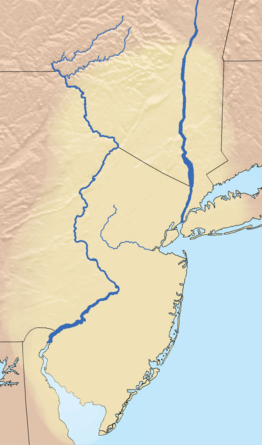 Lenapehoking translating to 'in the land of the Lenape.'